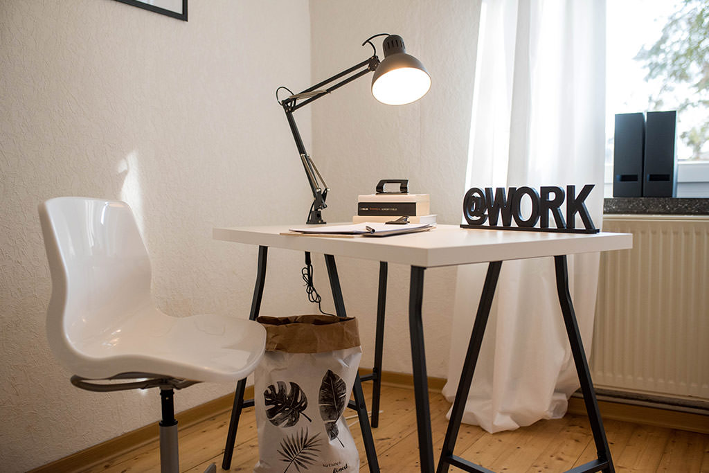 Home Staging Arbeitsplatz
